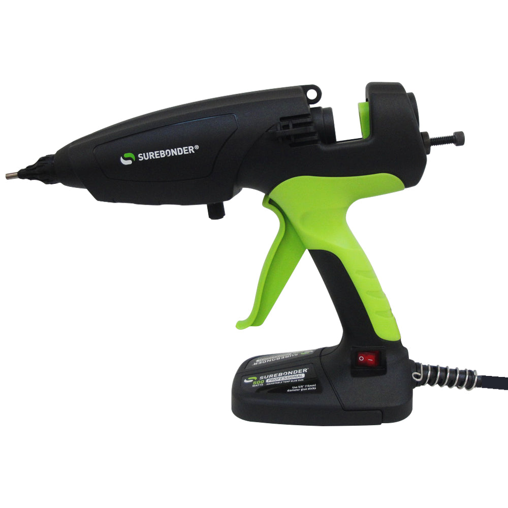 "500 Watt Adjustable Temperature 5/8"" Hot Glue Gun - Surebonder"