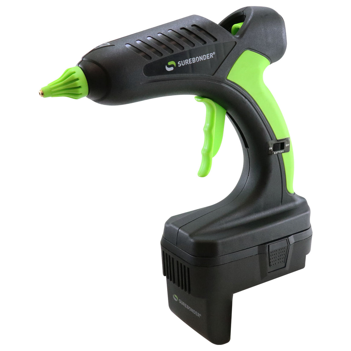 PRO2-60DEW 60 Watt 20 Volt Cordless Professional Heavy Duty Full Size Hot Glue Gun - Dewalt® Version - Surebonder