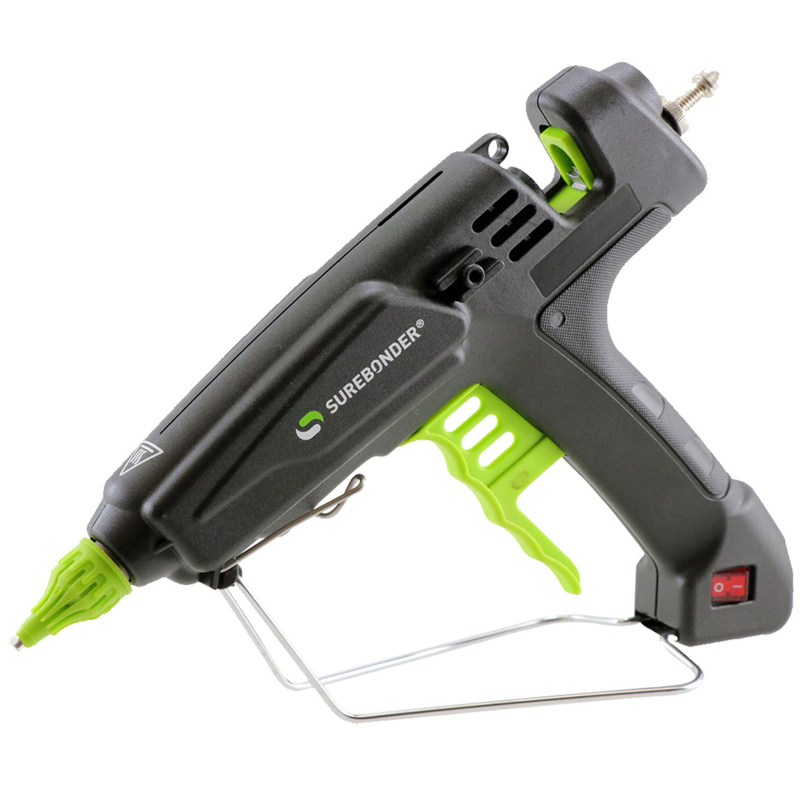 "PRO8000A 180 Watt Quick Heating Professional Heavy Duty Hot Glue Gun - Uses Full Size, 7/16"" Glue Sticks"