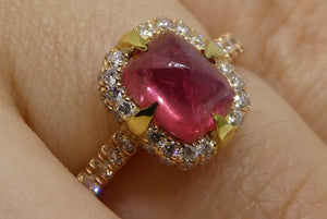 Famous Ruby Engagement Rings