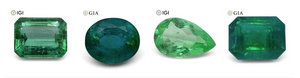 Why do emeralds have inclusions?
