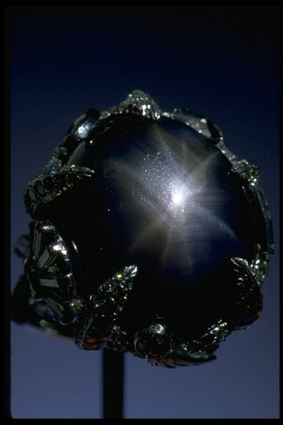 The Pearson sapphire ring
