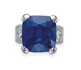Royal Blue Sapphire Ring Christie's