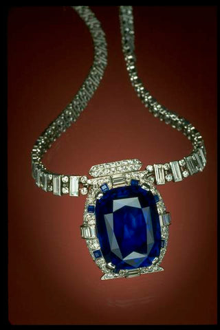 The Bismarck Sapphire Necklace