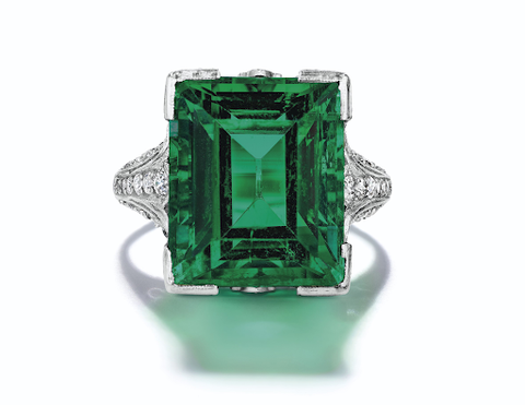 The duPont Emerald ring