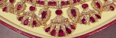 Queen Amelie of Portugal's ruby necklace