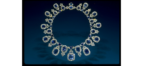The Hall Sapphire Necklace