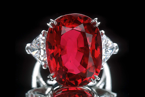 The Carmen Lucia Ruby ring