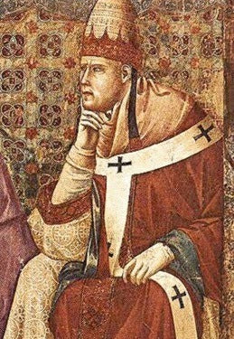 A depiction of Pope Innocent III