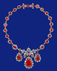 The Baring Ruby Necklace