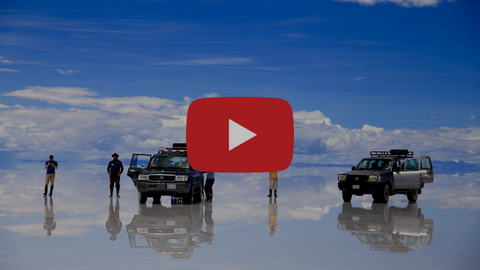 Bolivia Salt Flats with Kara and Nate