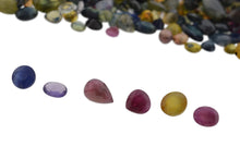 10ct Mixed Multi Colour Natural Sapphire