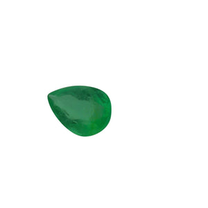 0.67 ct Pear Shape Emerald - Skyjems Gemstones Gems