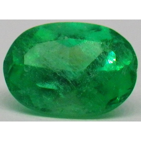 0.68 ct Oval Emerald