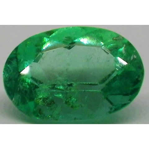 0.7 ct Oval Emerald