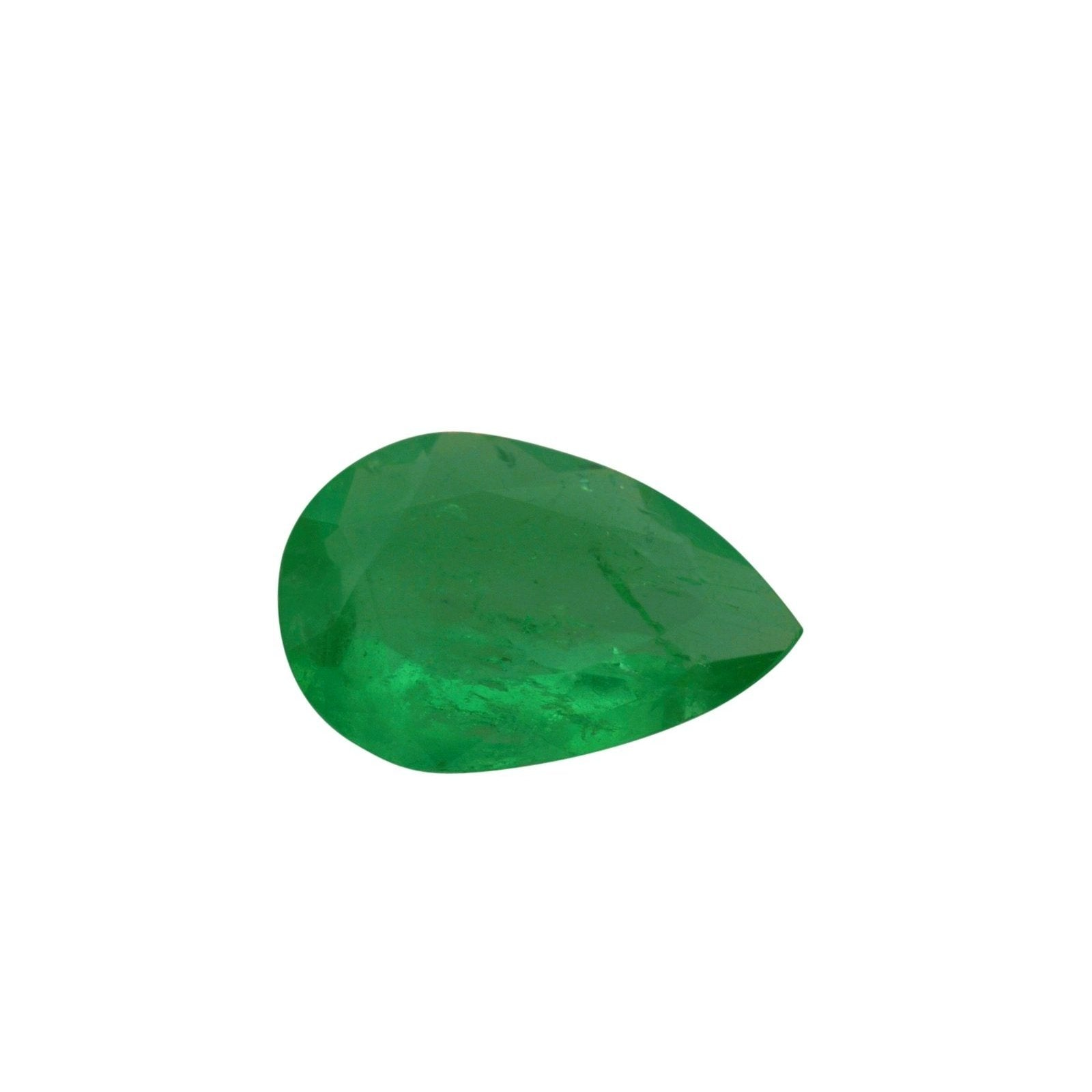 0.77 ct Pear Shape Emerald