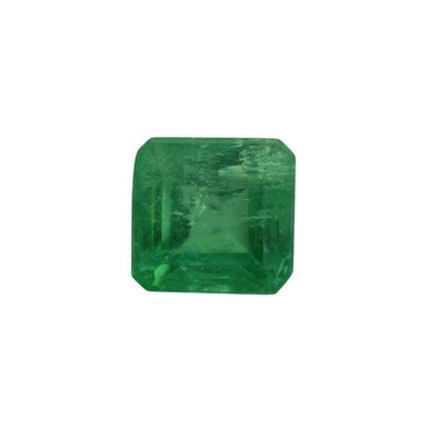 0.79 ct Square Cut Emerald - Skyjems Wholesale Gemstones