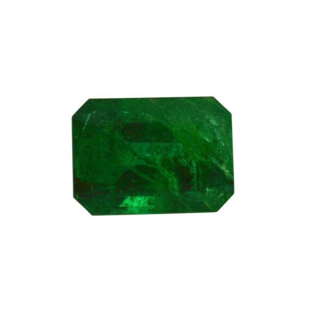 0.84 ct Emerald Cut Emerald - Skyjems Gemstones Gems
