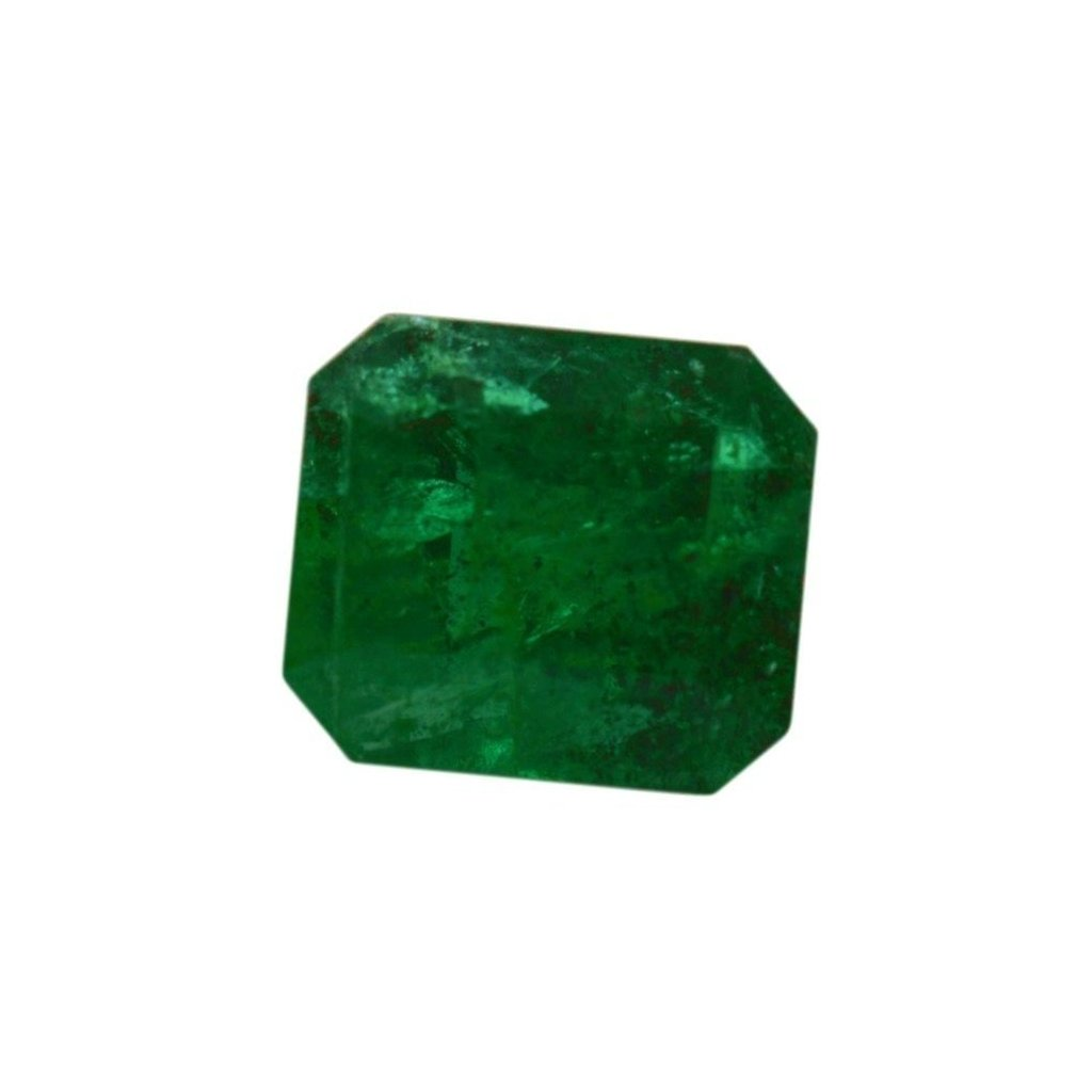 0.90 ct Emerald Cut Emerald - Skyjems Gemstones Gems
