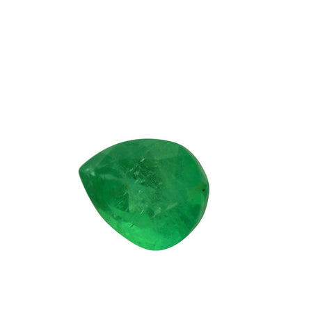 0.91 ct Pear Shape Emerald