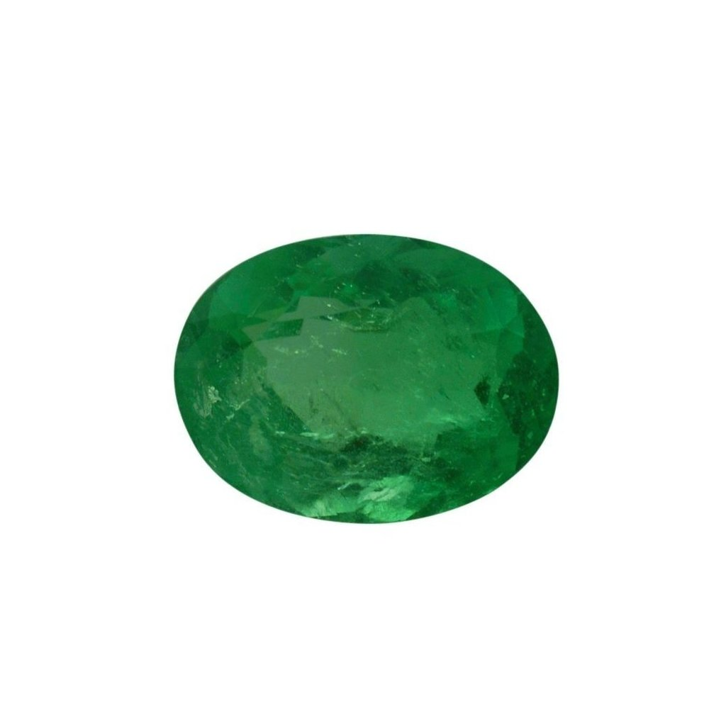 0.94 ct Oval Emerald