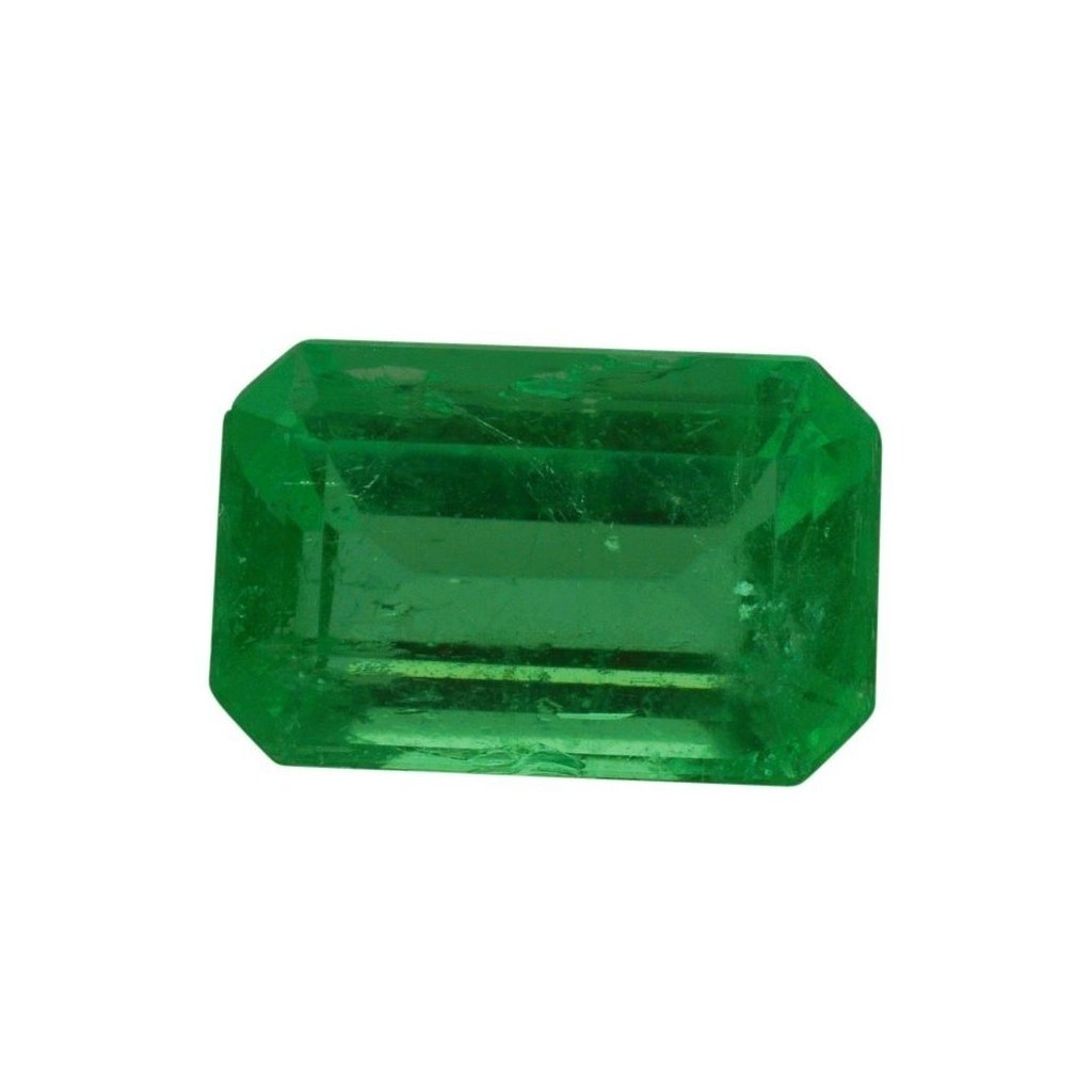0.95 ct Emerald Cut Emerald