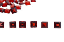 53 Stones - 10 ct Almandine Garnet 3mm Square