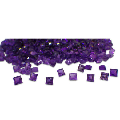 10 ct Amethyst 4mm Princess