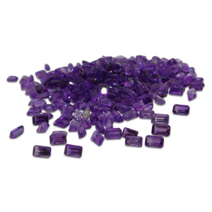 10 ct Amethyst 5x3mm Octagon