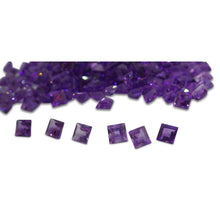 17 Stones - 9.86 ct Amethyst 5x5mm Square