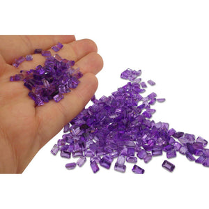 18 Stones - 9.54 ct Amethyst 6x4mm Emerald