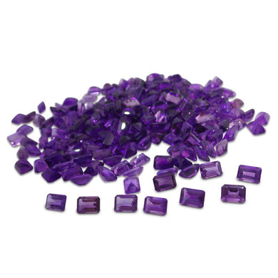 11 Stones - 9.90 ct Amethyst 7x5mm Octagon