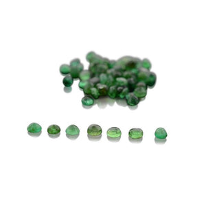200 Stones - 10 ct Emerald 2.50mm Round