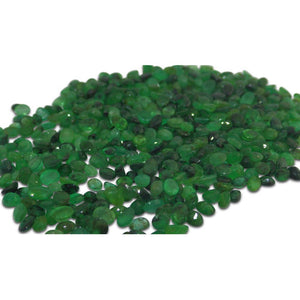 30 Stones - 4.80 ct Emerald 4x3mm Oval - Skyjems Wholesale Gemstones