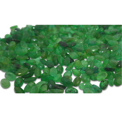 23 Stones - 5 ct Emerald 5x4mm Oval - Skyjems Wholesale Gemstones