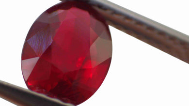 1.39ct GIA Certified Unheated Ruby