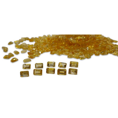 23 Stones - 14.95 ct Citrine 6x4mm Octagon - Skyjems Wholesale Gemstones