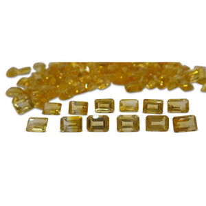 16 Stones - 15.2 ct Citrine 7x5mm Octagon - Skyjems Wholesale Gemstones