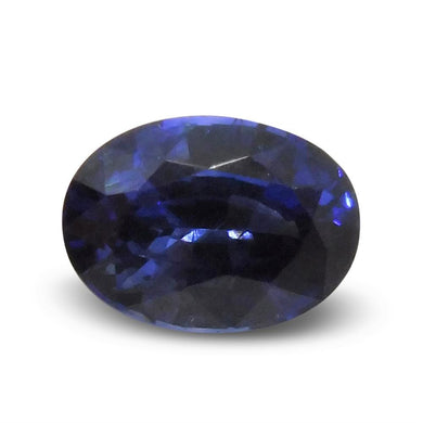 1.77ct GIA Certified Unheated Blue Sapphire