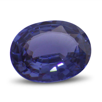 1.83ct GIA Certified Unheated Colour Change Blue to Violet Sapphire
