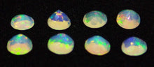 13 Stones - 1.95 ct Opal 4mm Faceted Round