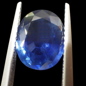 2.88 ct GIA Certified Sapphire