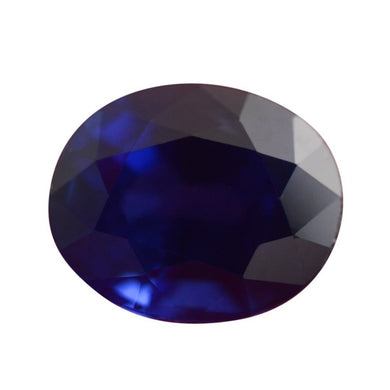 3.14 ct GIA Certified Sapphire