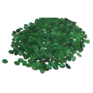 25 Stones - 5 ct Emerald 5x3mm Oval