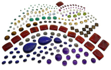 500 cts+ Mixed Gemstones: Ruby, Sapphire, Peridot, Amethyst, Emerald, Citrine, Moonstone+ Great Beginner Wholesale Lot