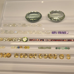 500cts+ Mixed Gem Beginner Lot: Ruby, Sapphire, Peridot, Amethyst, Emerald, Citrine, Moonstone+ Great Beginner Wholesale Lot