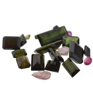 52.58 cts 33 Stones Tourmaline Parcel - Skyjems Wholesale Gemstones