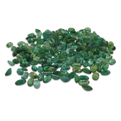 30 Stones - 6 ct Green Amethyst/Prassiolite 5x3mm Oval