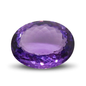 17.91 ct Oval Amethyst