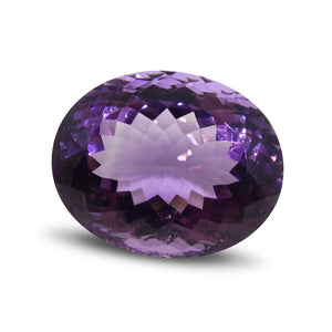 22.28 ct Oval Amethyst